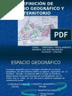 Espacio Geografico y Territorio