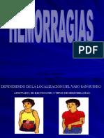 3.- Hemorragias y Vendajes