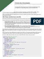 Python XML Processing