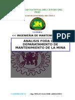 Analisis Foda de La Mina Castrovirreyna