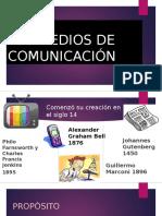 Los Medios de Comunicación1