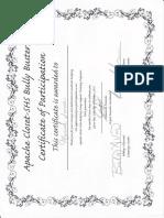 apache closet certificate