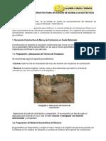 Procedimiento Constructivo Para Aplicación de Geomallas