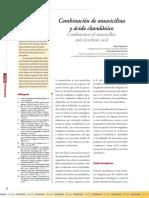 Amoxicilona y Acido Clavulanico.