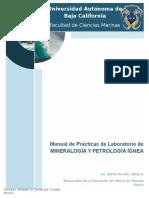 Manual de Mineralogía y Petrología Ígnea 2013
