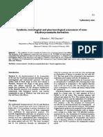 Sintesis y Toxicologia de Los Derivados de La Cumarina