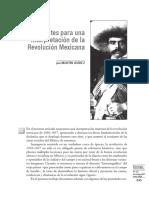 Apuntes para Interpretar La Revolucion  mexicana