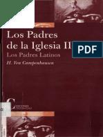 Campenhausen, H. v., Los Padres de La Iglesia II. Padres Latinos