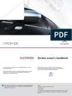 C5 Citroen Drive Europe Owners Handbook GlobalCARS