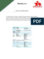 Informe Logistica Empresa Bavaria