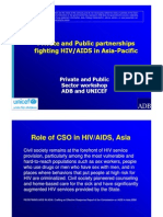 Private and Public Partnerships Fighting HIV/AIDS in Asia-Pacific