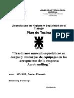 Plan de Tesina Aerohandling