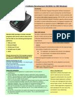 SDK Windows Brochure
