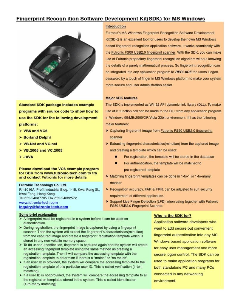 SDK Windows Brochure | Software Development Kit | Microsoft