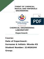 Practical Report Sample