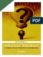Strategic Thinking Hi Tech Strategy Guidebook