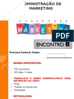 Adm de Marketing Aula 8