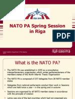 NATO PA spring session in Riga