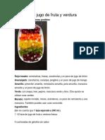 Gomitas de Jugo de Fruta y Verdura
