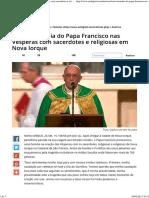 TEXTO_ Homilia do Papa Francisco nas Vésperas com sacerdotes e religiosas em Nova Iorque.pdf