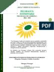 Edward Salazar Cruz. Alianza Verde Ecologista. Programa de Gobierno 2016-2022