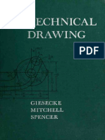 [by] Frederick E. Giesecke, Alva Mitchell [and] Henry Cecil Spencer.-technical Drawing-New York, Macmillan (1958)