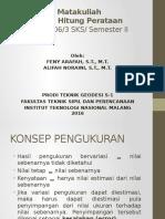 Ilmu Hitung Perataan (Pert-I)230316
