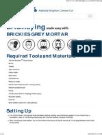 Bricklaying-DIY