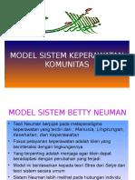 Model Keperawatan Komunitas