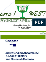 EastWest Review- Abnormal Psychology