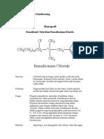 Monografi Benzalkonium Klorida
