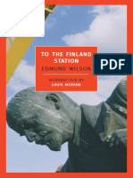 Wilson, Edmund - To the Finland Station -A Study in the Writing and Acting of History
