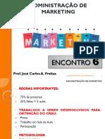 Adm de Marketing - Aula 6