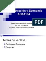 Areas Funcionales - RRHH y Finanzas