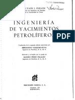 Ingeniería de Yacimientos Petrolíferos