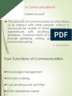 Unit 1 Communication