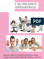 Manejo de Paciente Odontopediatrico