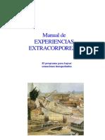 Manual de Experiencias Extra Corporales en 30 Dias