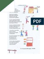 """Poema """"A nossa Escola"""""""