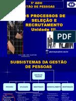 Recrutamento e Selecao. (1)