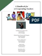 A Handbook Master_cooperative Teachers