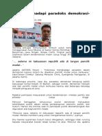 Indonesia Hadapi Paradoks Demokrasi