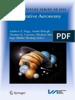 Comparative Aeronomy