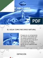 Presentación Agua Sabado 6 Feberero