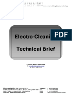 Electrocleaning Technical Brief