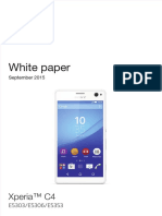 Whitepaper en e5303 e5306 e5353 Xperia c4