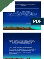 POLTICAS REGIONALES
