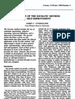 Elements of the Socratic Method - V - Self-Improvement