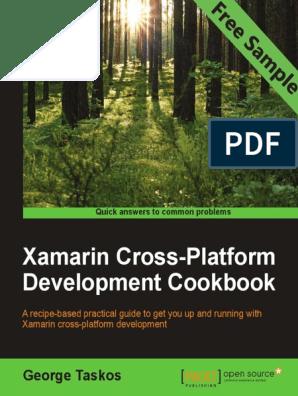 Xamarin Cross-Platform Development Cookbook - Sample Chapter