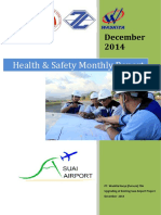HSE External Report suai airport - December 2014
